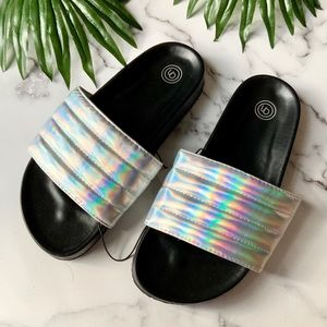 Quilted Pool Slides from Urban Outfitters